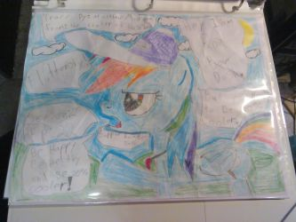 Coach Rainbow dash MLP by matthew1571571570