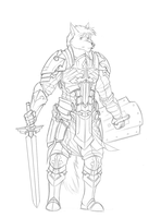 Paladin WIP by 7THeaven