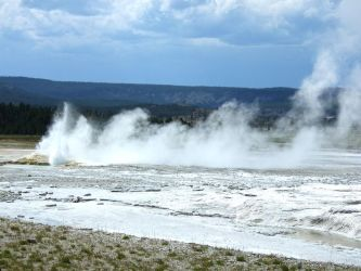 Yellowstone Geysers3 by Trisaw1