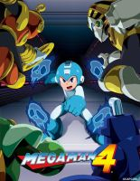 Mega Man 4 review by supercrashthehedgeho