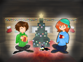 Christmas contest :D by JustASaltyLuna