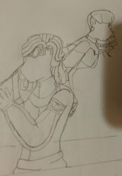 4th sketch-vomber: over the shoulder hold by sailorx161