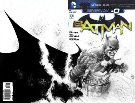 Batman #0 Sketch by wrathofkhan