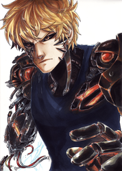 Genos - ONE PUNCH MAN by Dunklayth