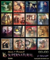 SPN - Season 9 Moments (Icons) by lilyanjudyth