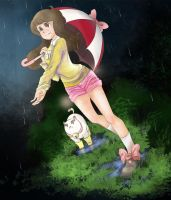 Bee and Puppycat by Mlain