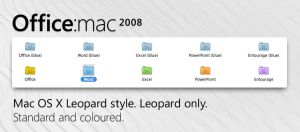 Office:mac 2008 folders by AaronLatimer