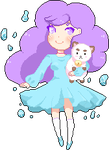 Bee and puppycat pixel by Demimiss