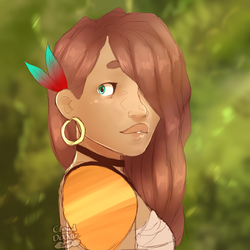Warm and Green by CloudDoodle