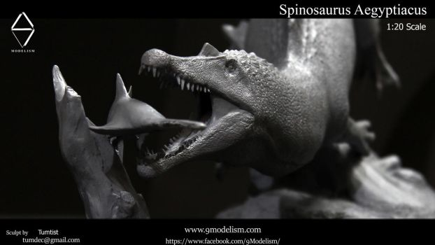 Spinosaurus 1:20 resin kits by TumTist