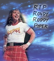 RIP Rowdy Roddy Piper by scrik