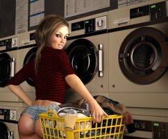 Laundry Day by Grendaar