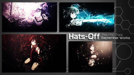 First PSD Pack [3K Special] by HatsOff-Designs