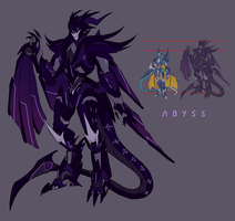 Predacon OC: Abyss by Mecha-Vision