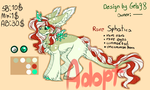 Rare Sphatica adopt ! OPEN by Gela98