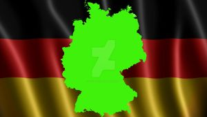 Green Screen Germany Flag by silviubacky