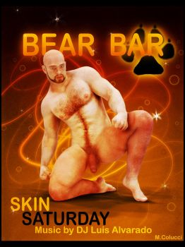 Bear bar by MiguelColucci