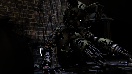 Scraptrap on the alley by JustERROR578