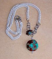 Oceans of Time Necklace by changetheFATES