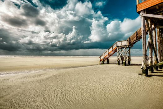 North Sea, Sankt Peter-Ording by hessbeck-fotografix