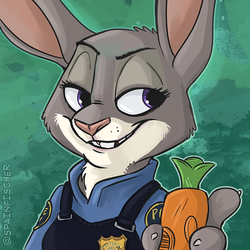 Fan Favorites #38 - Judy Hopps by SpainFischer
