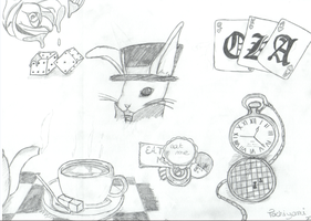 Alice in Wonderland by Poulp-ed