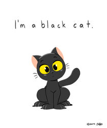 I'm a Black Cat by joaoppereiraus