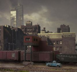 Freight train passing by jpachl