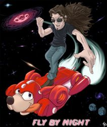 Geddy Lee - Rush Jet by ActionMissiles