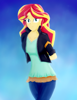 Sunset by CrunchTheRobot