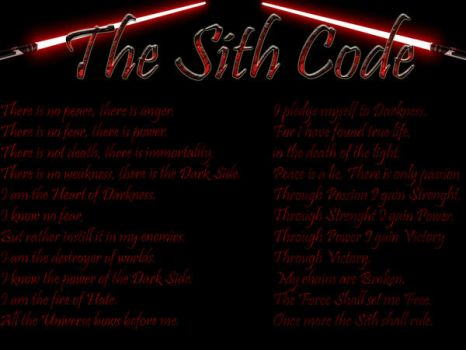 The Sith Code by Omega2092
