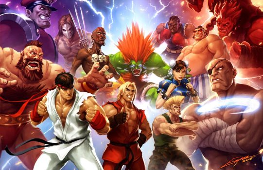 Street Fighter (Capcom Fighting Tribute) by EspenG