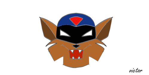 Swat Kats Razor Fan Art by leonrock84