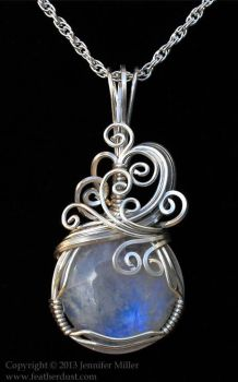 Windy Mooonstone Pendant by Nambroth