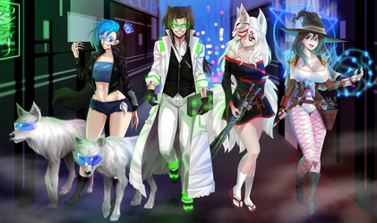 cybermagic group by opcrom
