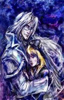 Chrno Crusade - Aion y Rosette by jesterry