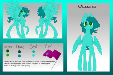 Oceania Reference Sheet by MischievousArtist