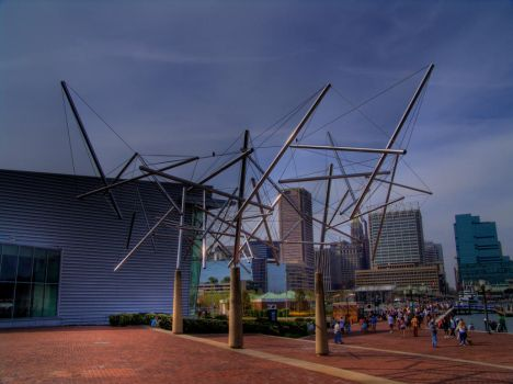 Baltimore Science Center by mindshadow