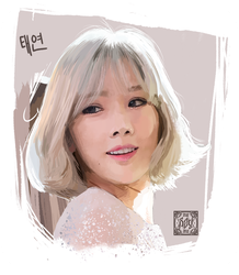 SNSD-Taeyeon by Sevenlole