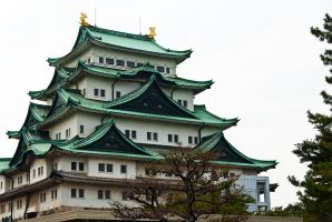 Green-roofed Castle by chinotenshi