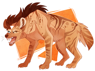 Bill-Hyena by MapleSpyder