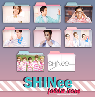 shinee folder icons (request) by stopidd