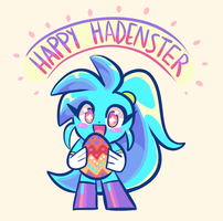 Happy Hadenster by LoulouVZ