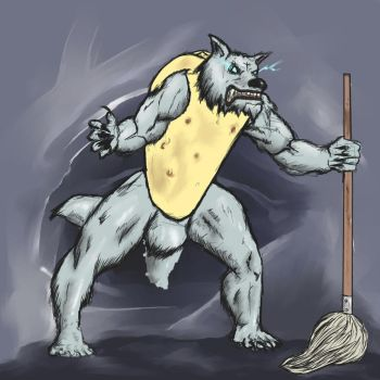 ZXCVBNMZXCVBNM or: The Tacowolf Janitor by Isulf