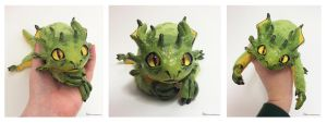 Penda the OOAK Tree Dragon Art Doll FOR SALE by Sovriin
