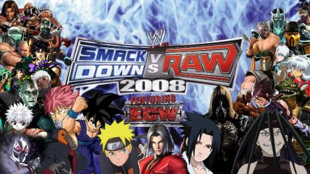 WWE SmackDown! vs. RAW 2008 Special Roster by yoink13