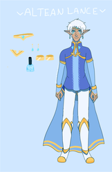 Altean Lance by gh0stbun