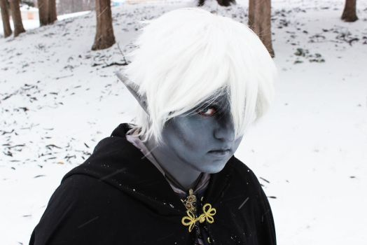 Drow/Dark Elf OC 003 by MasonManiac
