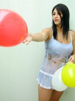 Playing with balloons 04 by Cati-xD