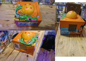 Dragon Ball Altered Game Cube by AzazelAlteredConsole